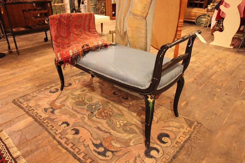 Vintage Upholstered Bench