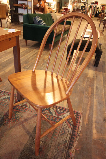 SOLD - Danish Set Four Chairs