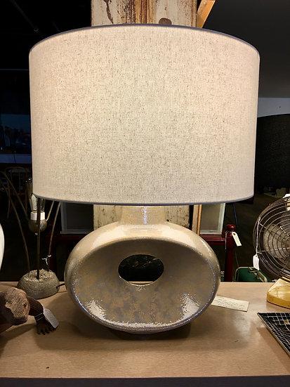 SOLD - Large Mid-Century Ceramic Lamp