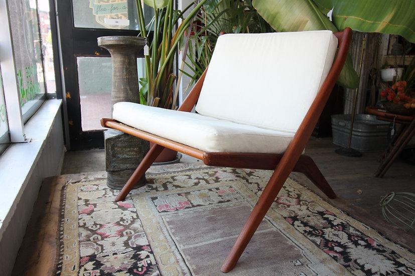 SOLD - Dux Scissor Chair