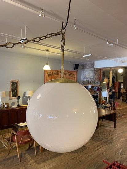 Spun Glass Pendant Lamp