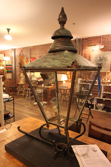 Antique British Street Lamp