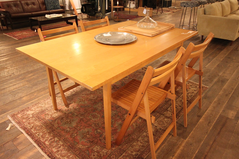 SOLD - Maple Farm Table