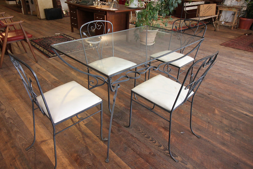 Vintage Patio Table & Chairs
