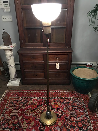 Deco Style Torchiere Lamp