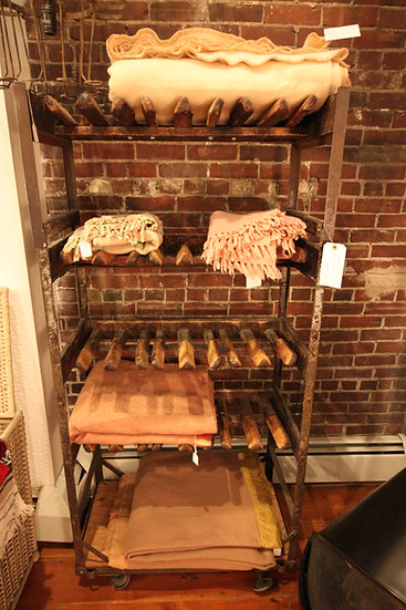 SOLD - Antique Shoe Rack