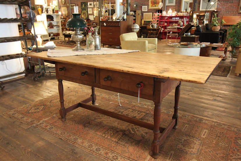 SOLD - Antique Harvest Table