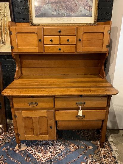 Vintage Baker's Cabinet
