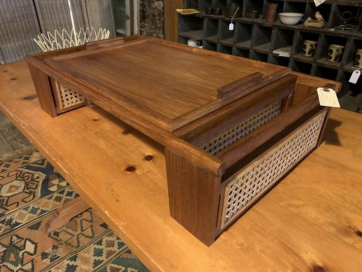 Mid-Century Breakfast Tray Table