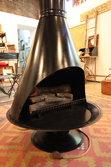 SOLD - Mid-Century Cone Fireplace