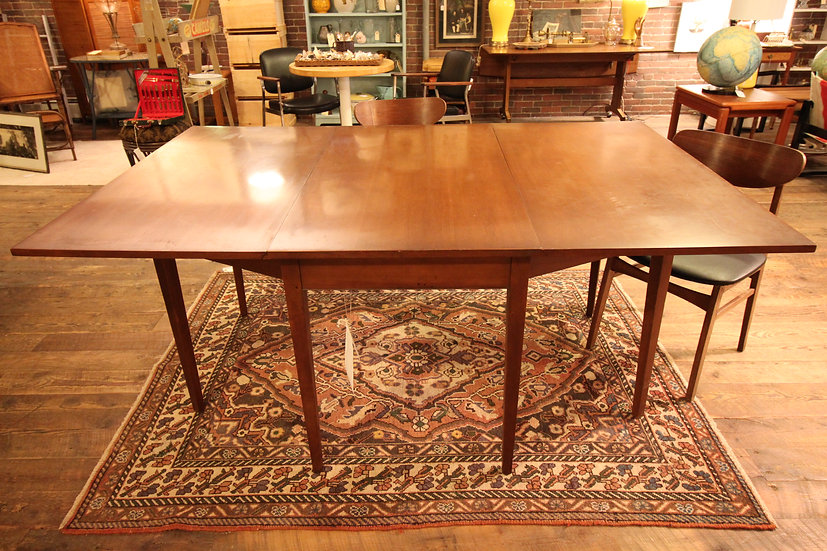 SOLD - Mid-Century Drop-Leaf Table