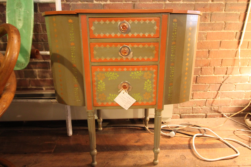 SOLD - Painted Martha Washington Stand