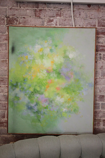 SOLD - Abstract Floral