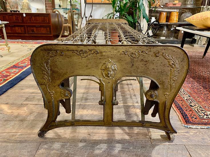 Ornate Iron Folding Daybed