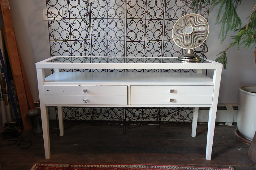 SOLD - Painted Sofa Table