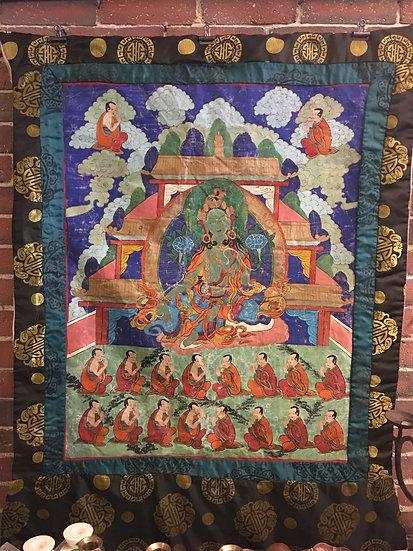 SOLD - Tibetan Thangka