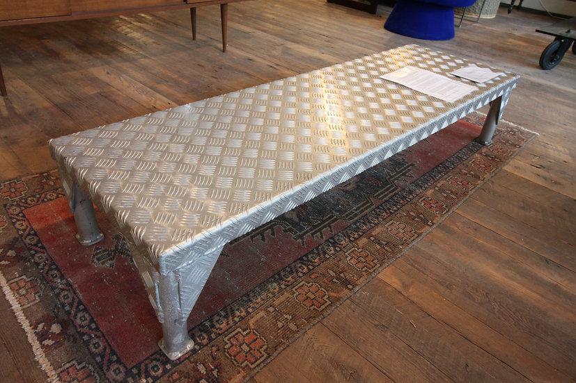 Modern Diamond Steel Bench/Table