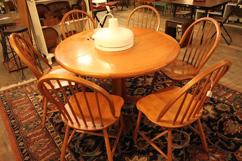 Set (6) Danish Dining Chairs