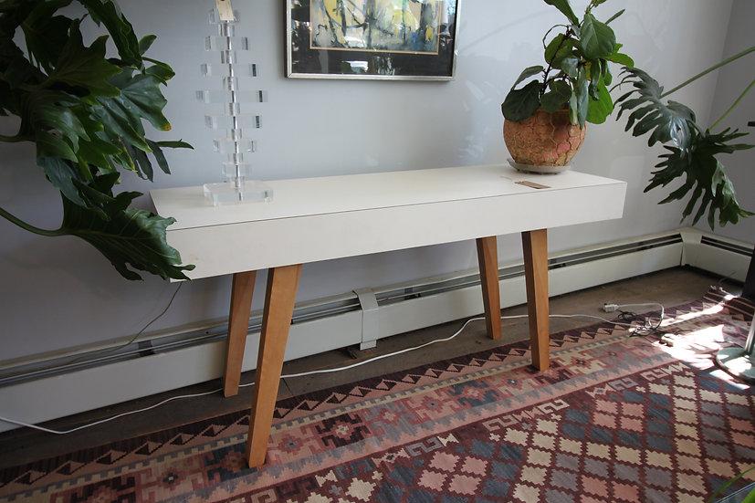 Milo Baughman-Style Convertible Table