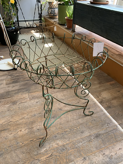 Large Wire Plant Stands (2 Available)