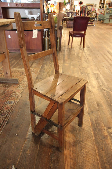 SOLD - Benjamin Franklin Ladder Chair