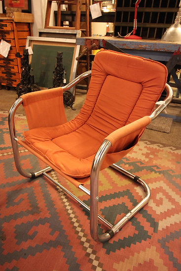 SOLD - Mid-Century Sling Chair
