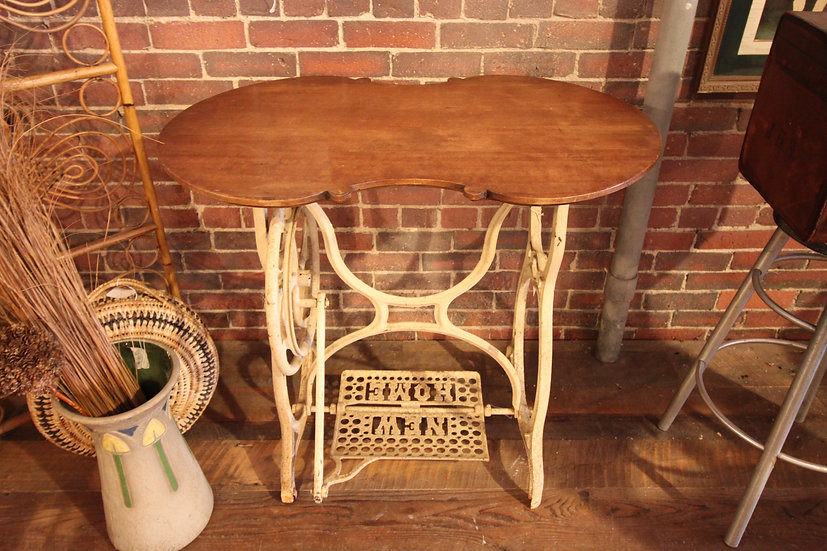 SOLD - Repurposed Sewing Machine Table
