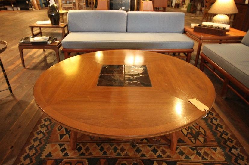 Mid-Century Round Coffee Table