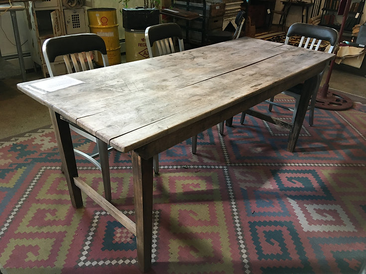 SOLD - Folding Farm Table