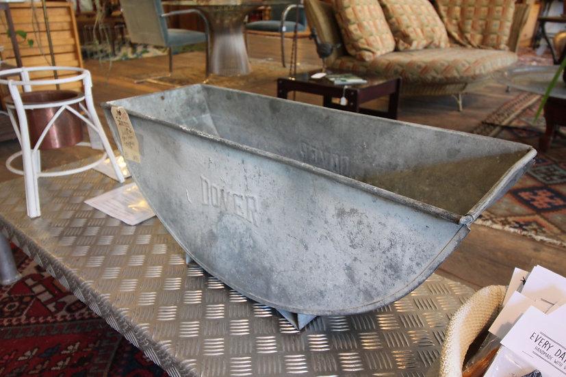 Vintage Galvanized Bin