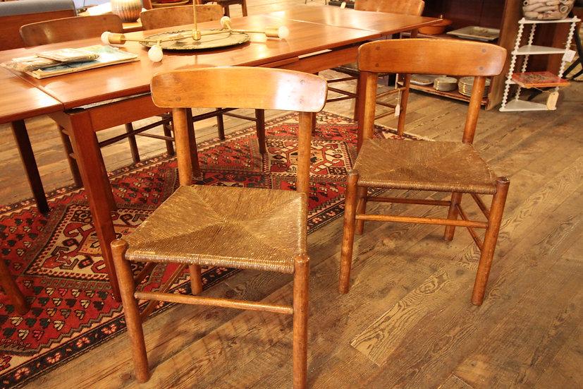 "Set (6) Borge Mogensen ""Shaker"" Chairs"