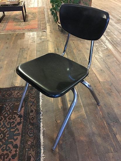 Pair Vintage School Chairs