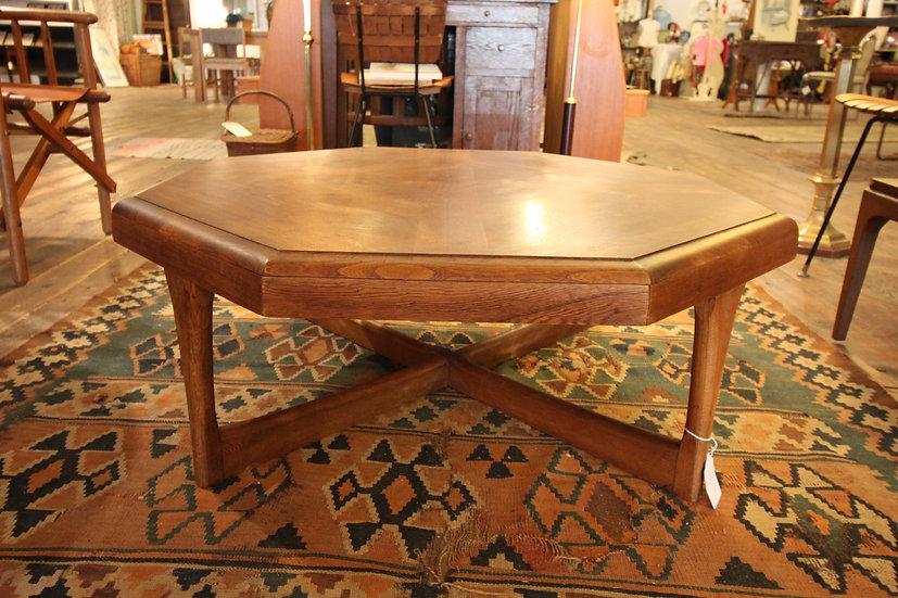 Mid-Century Octagonal Table