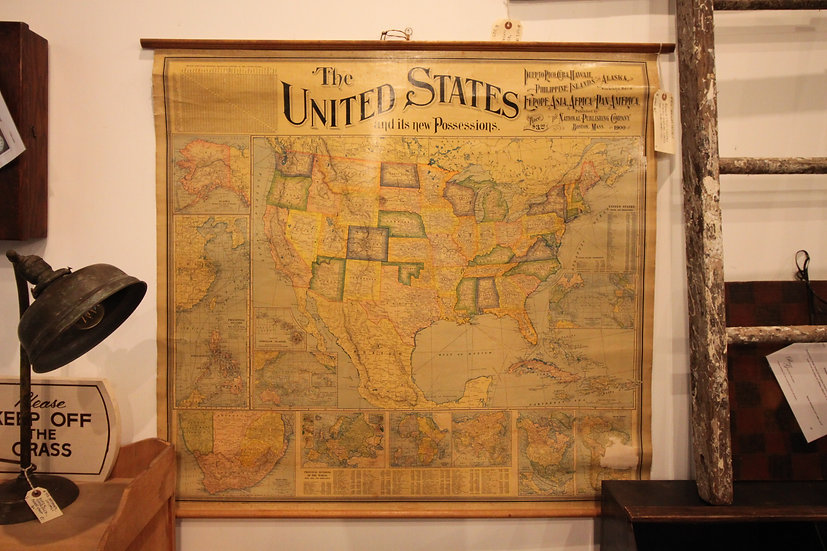 Antique Map of US