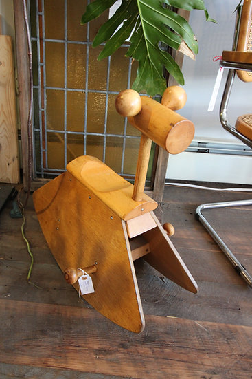 SOLD Swedish Mid-Century Rocking Horse