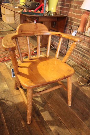 SOLD - Pair Pine Camp Chairs
