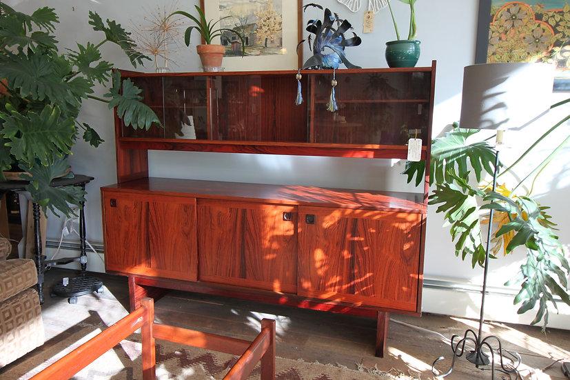 Danish Modern Rosewood Hutch