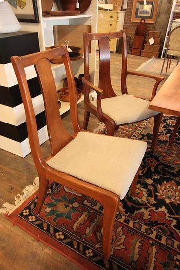 Set (6) Mid-Century Dining Chairs