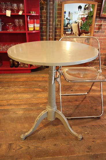 SOLD - Industrial Bistro Table
