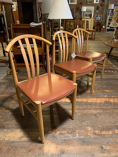 Set (3) Mid-Century Chairs