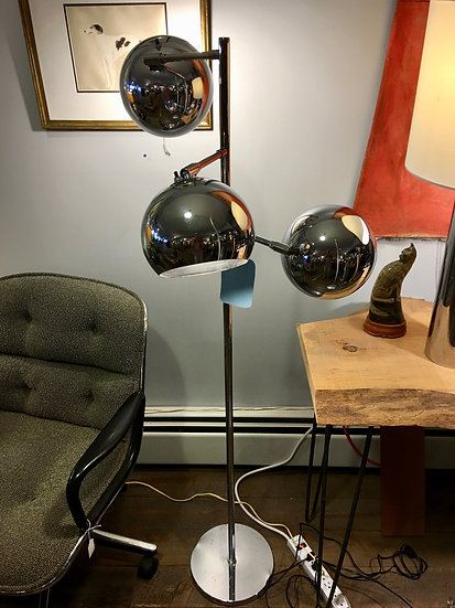 SOLD - Koch & Lowy Eyeball lamp