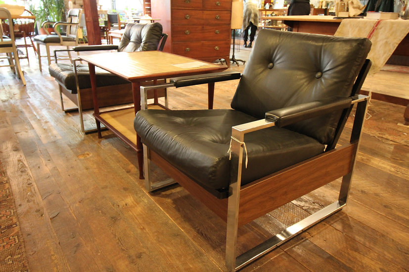 SOLD - Pair Mid-Century Lounge Chairs