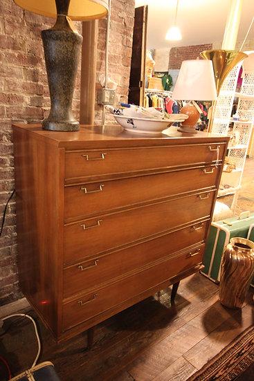 SOLD - Mid-Century Highboy Dresser
