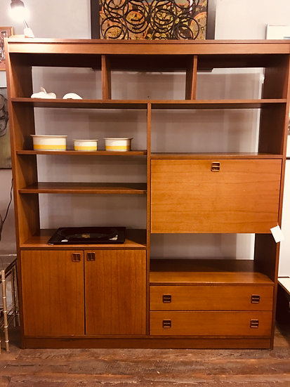 SOLD - Mid-Century Shelving Unit
