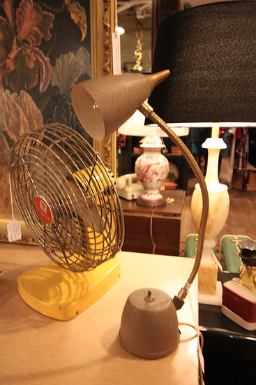 SOLD - Mid-Century Desk/Wall-Mount Lamp