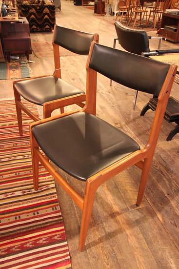 Set (4) Mid-Century Dining Chairs