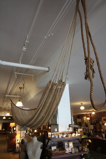 SOLD - Antique Fisherman's Hammock
