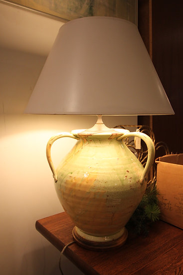 Ceramic Vessel Lamp