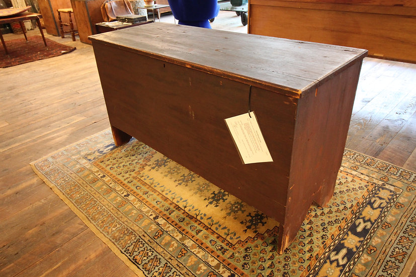 Antique Single-Board Blanket Chest