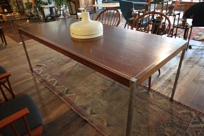 SOLD - Knoll Rosewood Dining Table